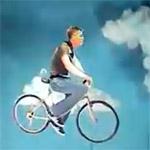 Vélo qui vole