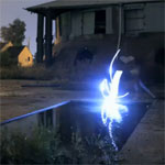 Lumières nocturnes - Rippled