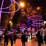 Time-lapse sur les Champs-Elysées