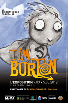 Tim Burton, l'expo !