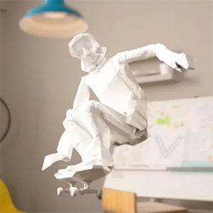 paper-skater