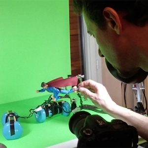 making of super-heros blues 3